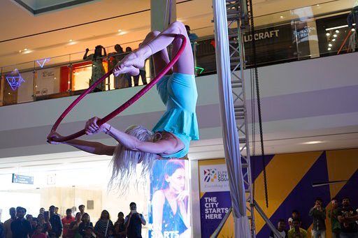 Entertainment Events at Elpro City Square