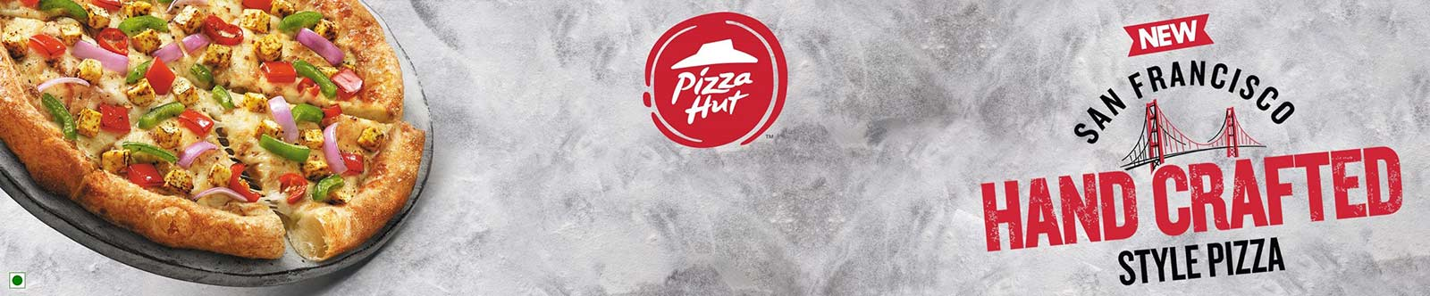 Pizza hut food at Elpro City Square